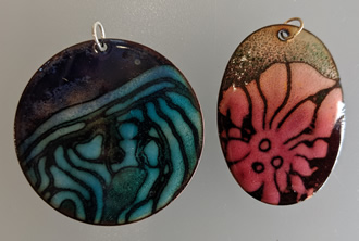 learn enamel on copper at tacoma metal arts center